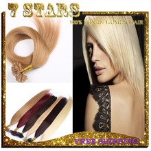 Aliexpress best quality remy double drawn Hair Extensions U Tip 1 Gram 8-30 inch accept sample order