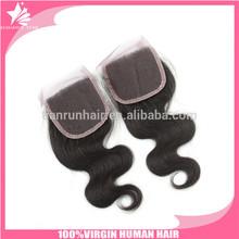 hair ornaments wholesale human body wave brazilian lace closure 4*4 lace front closure brazilian body wave no shedding
