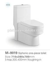 M-9019 China sanitary ware manufacturer ceramic water closet size