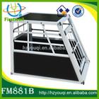 dog transport kennels MDF wood and aluminum pet crate