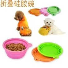 silicone dog water bowl silicone pet bowl pet travel bowl