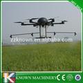 Controleremoto agrícola spray de helicóptero, helicóptero para pulverização de pesticidas