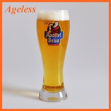 World Cup Pilsner Beer Glass with Corona OEM Decal Logo
