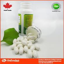 Private label oem bulk capsules melatonin