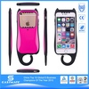 Factory custom silicon mesh hybrid phone skin for iphone 3g