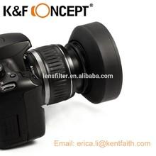 58mm Three Function Camera Lens Hood, Rubber Camera Lens Hood, Camera Lens Hood