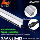 alibaba express 1200mm 40W/60W multi appllcations linear tube led, corridor lighting