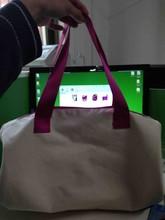 Customed design canvas duffle bag