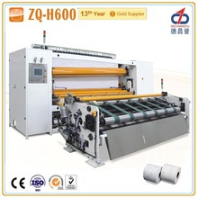 ZQ-H600 Toilet roll processing equipments tissue paper making machine