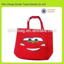 Hot sale cute printing shopping bag,canvas tote