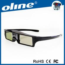 New design Active Shutter Projector 3D glasses,Cheap 3D viewer