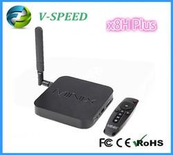 stb TV BOX x8-h update minix neo x8-h PLUS 4k s812 quad core processor neo x8h plus media hub Android tv box
