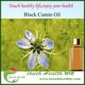 Fornecer touchhealthy 100% prensado a frio de petróleo preto sementes de nigella sativa petróleo cominho