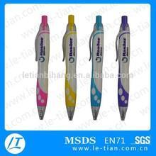 LT-W542 Logo custom plastic ball pen promotional stationery