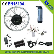 eBike 36v 12AH 500w 26in rear WHEEL Electric Bike Bicycle Motor Conversion Kit