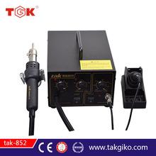 tak-852 Soldering / Desoldering Station Welding Machine 3 in 1 Soldering iron+Hot Air Gun+Power Supply