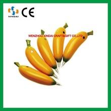 Banana shaped ball pen,fruit pen,promotional ball pen