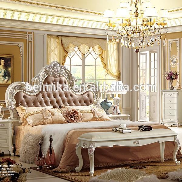 Moderne de lits de luxe royal style chambre ensemble lots de literie id du produit 60160755514 - Chambre style anglais moderne ...