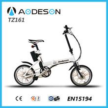2015 new model 16'' foldable electric bike bafang 24v 250w motor pocket bike child easy ride