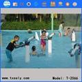 حديقة الألعاب المائية، طفل يلعب الماء