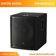 Woofer da 18 altoparlante piazza box speaker per stage box altoparlante per dj/partito/stadio