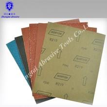 0-4# medium grit abrasive emery cloth sheet