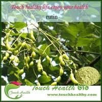 Touchhealthy supply sophora japonica extract/rutin powder/rutin