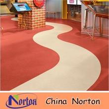 homogeneous commercial pvc flooring NTF-PC002