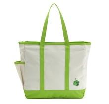 durable natural cotton handbag, 10 oz cotton shopping bag, cotton canvas tote bag with zipper closure