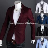 Fashion Men Blazers designs,Single Button Outerwear Casual slim fit blazer, man jacket