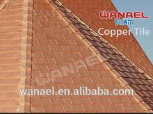 New prducts on China market, asphalt base copper roof