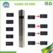 HOT sell stainless steel Electronic Cigarettes Vamo V8 mod