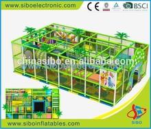 GM0 kindergarten kids game indoor plastic slide attractions in china