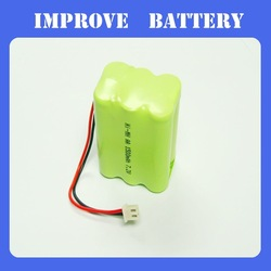 6 x AA NiMH Battery for Walking Robot, with 7.2V Voltage and 2,200mAh Capacity