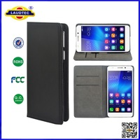 Wholesale wallet case for huawei honor 6 accessories,pu leather case for huawei honor 6