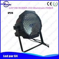 Led disco light 120*3W rgbaw light emotion par bar led 6 pieces