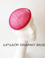 Sinamay base available in any colors/hat millinery/fascinator base
