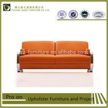 Modern living room sofa \ZANZI fashion three seater leather sofa