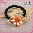 Champagne pearl hair band with elastic material