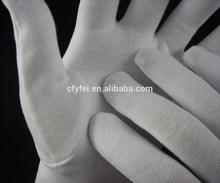 Dermatological Cotton Gloves White Cotton Gloves
