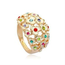 (n060715) 2012 fashion costume unique heart zircon shape jewellery italina