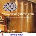 الستائر المعدنية الملونة المعلقة، شبكة الستائر المعدنية المعلقة، سلك معدني ربط الستائر