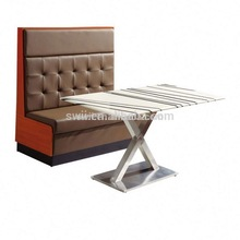 Leather Restaurant Booth pictures of sofa designs