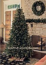 prelit albero di natale artificiale albero di natale ha condotto la luce 2015
