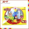 اللون الشعبي كلاي العجين لعب مجموعة لعب للأطفال