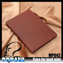 Shenzhen manufacturer luxury offical flip case for mini ipad case