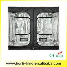 Hydroponic grow tent kit 600d mylar greenhouse zipper door