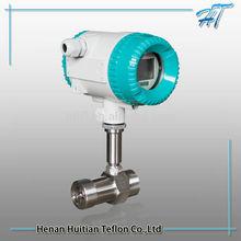 Thread type high pressure diesel/gasoline turbine flowmeter