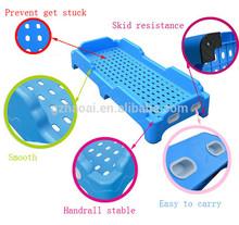 HL-1122 High Quality Eco-friendly Plastic Safe Kids Bus Bed for Preschool