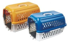 Plastic Airline pet cage dog transport kennel